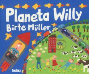 Portada del libro Planeta Willy